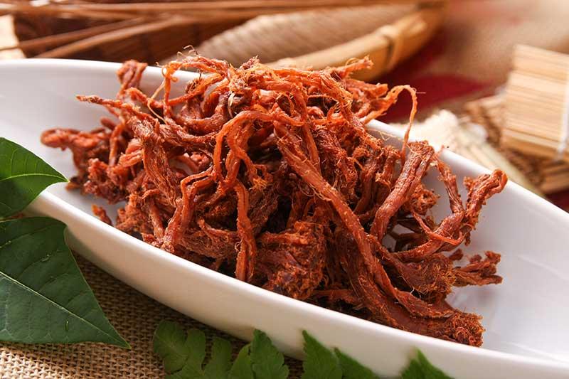 黑胡椒肉絲(麻辣)