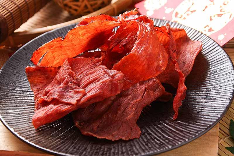 原味豬肉片(火烤紅色)